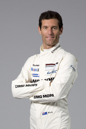 Пилот команды Porsche Racing Марк Вебер