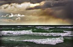 Approaching Storm, Sandbanks, Prince Edward County, Ontario. Canada (klauslang99) Tags: park county lake ontario canada storm nature prince edward northamerica naturalworld sandbanks provincial klauslang