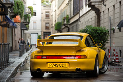 Not always rainy days are bad (David Clemente Photography) Tags: cars car 911 porsche gt2 supercars porsche911 porschecarrera porschegt2 germancars porsche911gt2 porsche993gt2 993gt2 germansupercars germanbeauties carspottingmilan