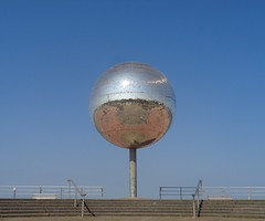 The Worlds Largest Mirrorball (j.a.sanderson) Tags: sphere mirrorball blackpool attraction glitterball theworldslargestglitterballonsouthpromenade