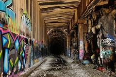 Summit Tunnel (J-Fish) Tags: california graffiti tunnel sierranevada donnerpass transcontinentalrailroad summittunnel d300s 1685mmf3556gvr 1685mmvr