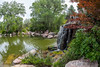 B36C6390 (WolfeMcKeel) Tags: park new city vacation nature water gardens garden mexico botanical waterfall spring high pond flora downtown desert landscaping albuquerque 2016