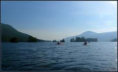 Out on the main lake (edenseekr) Tags: lakegeorgeny thenarrows kayaking adirondacks