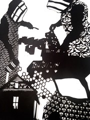 MBosley_MindYourOwnBeekeeperdetail (TheWayThingsWere) Tags: silhouette paperart silhouettes papercut papercuts papercutting mollybosley
