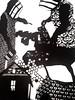 MBosley_MindYourOwnBeekeeperdetail (TheWayThingsWere) Tags: silhouette paperart silhouettes papercut papercuts papercutting mollybosley