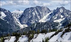 Windy Pass 17 (@GilAegerter / klahini.com) Tags: snow mountains beautiful animals landscape nikon hiking wildlife marmot nikkor manualfocus dragontail colchuck enchantments manuallens