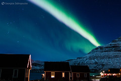 3.Aurora Borealis Eskifjordur ( / ELIX) Tags: volunteering 2016    elixconservationvolunteersgreece