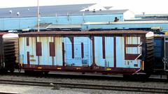 hindue (timetomakethepasta) Tags: hindue hindu gtb freight train graffiti wholecar boxcar sirx
