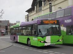 Ipswich Buses 74 YN56NVF Dogs Head St, Ipswich on 13 (1280x960) (dearingbuspix) Tags: 74 ipswichbuses yn56nvf