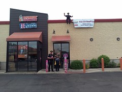 2016Dunkin'Donuts-WA105700 (Special Olympics ILL) Tags: rooftop donuts cop lawenforcement dunkin broadview torchrun specialolympicsillinois