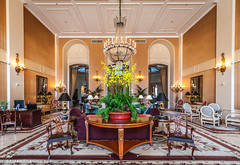 Mark Hopkins Lobby (Samantha Decker) Tags: sanfrancisco california ca hotel wideangle lobby uwa markhopkins canonefs1022mmf3545usm canoneos500d samanthadecker canoneosrebelt1i intercontinenral