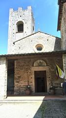 Abbazia di San Lorenzo a Coltibuono (trovado73) Tags: church flags chiesa chianti toscana architettura abbazia coltibuono porticato torrecampanaria