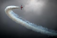 A Red Tail (Rep001) Tags: 2791 weston air day somerset redarrows raf display team uk d800 sigma 100300