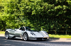 Silver S (Aimery Dutheil photography) Tags: london speed canon silver amazing italian fast exotic coupe supercar goodwood zonda amg v12 pagani paganizonda amgpower c12s 70d zondas paganizondas zondac12s londonsupercars