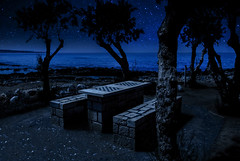Life is to short for chess. (Anthonio Nordhagen) Tags: nikon nightscape chess greece crete hersonissos 18105mm d5200