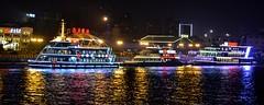 Chine du Centre-Est 2016 - Shanghai (philippebeenne) Tags: china shanghai rivire pudong tours nuit bund nocturne chine lumires croisire huangpuriver perledelorient