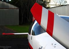 Details (Antnio A. Huergo de Carvalho) Tags: red white black detail branco silver airplane flyer aircraft aviation details preto vermelho vans rv avio propeller aviao aerobatic detalhe aerobatics prata p rv7 hlice rv7a acrobtico acrobaciaarea vansrv aeroba aviaoexperimental przrc