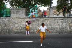 Havana. Cuba (H.L.Tam) Tags: street students havana cuba vieja documentary sketchbook cuban schooluniform iphone habanavieja photodocumentary iphone6s harbana cubanschooluniform cubasketchbook cubanschoolstudents