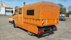 MB Vario 814D (Vehicle Tim) Tags: truck mercedes mb fahrzeug lkw vario schneepflug komunal