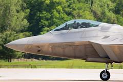 F-22 Raptor (W.L.M.II) Tags: raptor stealth f22 f22raptor spiritofstlouisairshowstemexpomay2016
