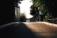 Sun blinded (Andrew Mishenko) Tags: sunset color film 35mm kodak places olympus ishootfilm analogue kiev filmphotography filmisnotdead olympusaf10super