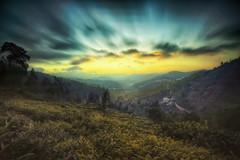 Dusk Effect... (karthik Nature photography) Tags: longexposure sky mountains nature colors clouds landscape outdoors landscapes tea dusk naturephotography landscapephotography