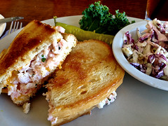 photo - Shrimp Salad Sandwich, Pier 29 (Jassy-50) Tags: california food restaurant photo shrimp sandwich alameda coleslaw pier29 shrimpsaladsandwich shrimpsandwich