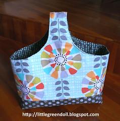 PATCH5803-Cesta-2016-06-05 (Silvia LGD (Little Green Doll)) Tags: hechoamano crafts patchwork fabrics telas handmade cesta cestareversible reversibleboxtote rbtote veryshannon basket