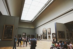 (Stephanie DiCarlo) Tags: paris travel france europe louvre thelouvre museum people