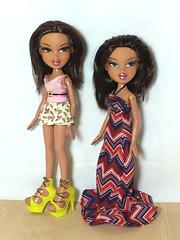 Nona and Tess (Bubblegum18) Tags: bratz twins nona tess mga
