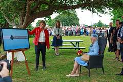 Meet up with Her Majesty Queen Margrethe ll of Denmark (Threin Ottossen) Tags: show beach landscape denmark shot outdoor anniversary glory jubilee jetty sony joy picture royal honor visit queen panasonic celebration winner serene presentation moment majesty lolland lovestorm nakskov