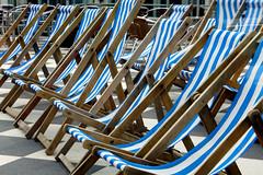 Deck Chairs (DSNINE) Tags: blue scarborough spar deckchairs dsnine