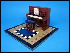 Queue Piano Player (Karf Oohlu) Tags: keyboard lego piano moc pianostool