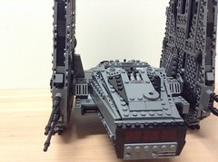Kylo Command Shuttle Mod (Johnny-boi) Tags: fix wings mod lego shuttle ren command kylo