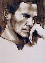 Pasolini (by  Nima Tayebian) (nimatayebian) Tags: portrait art arte nima pasolini tayebian nimapainter