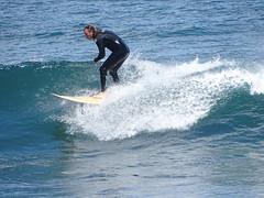 Hang Ten! (Adventures of KM&G-Morris) Tags: travel blue water grancanaria port surfer surfboard canaryislands laspalmas