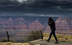 Enough John - don't fence me in (John A. McCrae) Tags: arizona sky usa fence landscape nationalpark unitedstates pentax grandcanyon canyon viewpoint moranpoint happyfencefriday pentaxk5 vishnupoint