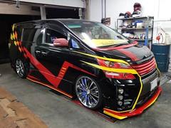 Toyota Vellfire Custom (SDA007) Tags: toyota jdm japan vellfire alphard spade prius hybrid custom