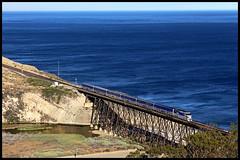 AMTK 455 (golden_state_rails) Tags: ocean california ca pacific amtrak 777 gaviota 455 surfliner f59phi amtk amt777