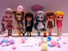 What a gorgeous girls!!! (cute-little-dolls) Tags: girls cute wonderful fantastic gorgeous balloon dream adorable lucky kawaii blythe fabulous customblythe pecochan blytheconjapan