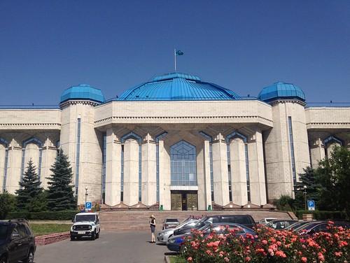 Museum in Almaty, Kasachstan