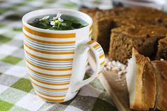 herb tea (Rambynas) Tags: cup cake tea herb