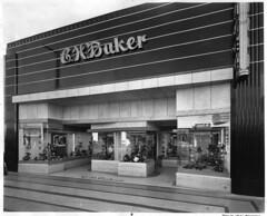 C.H. Baker (jericl cat) Tags: art history window facade vintage shoe photo store losangeles neon baker display womens moderne deco ch streamline vitriolite