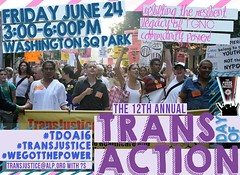 12th annual trans day of action (hollow sidewalks) Tags: flyers nyc manhattan washingtonsquare newyorkcity hollowsidewalks prideweekend2016 pride2016 currentevents rally march transdayofaction tdoa tdoa16 12thannualtransdayofaction