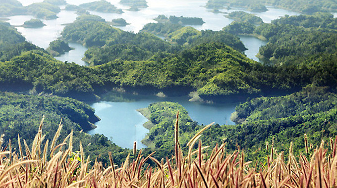 Hồ Tà Đùng.