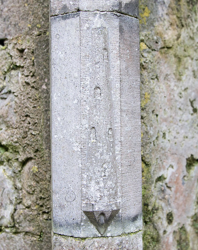 Rosserk Friary Round Tower Carving