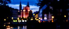 Ljubljana; Blurred (drasphotography) Tags: ljubljana ljubljanica slovenia slowenien blurred bokeh bokehlicious travel travelphotography reise reisefotografie drasphotography nikond7000 d7k nikon nightshot nachtaufnahme blaue stunde