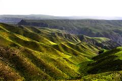 Kuoksu Grand Canyon  (MelindaChan ^..^) Tags: china green nature hill canyon mel  melinda curve range slope xingjiang  kuoksu chanmelmel  melindachan kalajun kuoksugrandcanyon