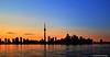 Toronto Skyline Silhouette (Rex Montalban Photography) Tags: sunset toronto rexmontalbanphotography