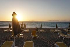 DSC00646 (JasonSwindells) Tags: travel sunset sun tourism beach hellas tourist greece rhodes rhodos a6000